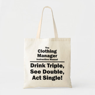 clothing manager canvas bags
