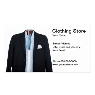 Clothing Store Business Card Business Cards