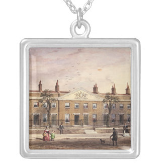 Clothworkers Almhouses in Frog Lane Silver Plated Necklace