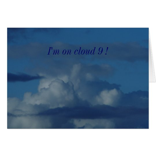Cloud 9 Card
