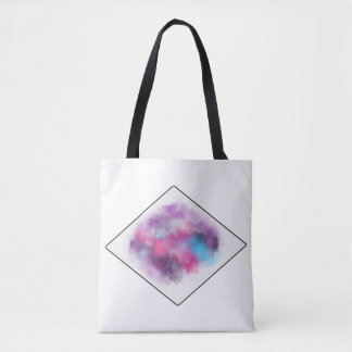 Cloud and diamond bag