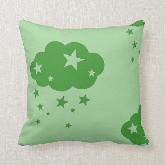 Cloud and stars cushion