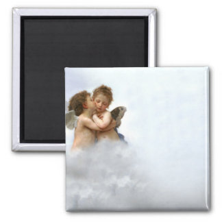 Cloud Angels Fridge Magnet