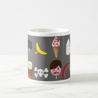 cloud banana ice cream beer rainbow mug