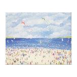 Cloud Beach Canvas Print