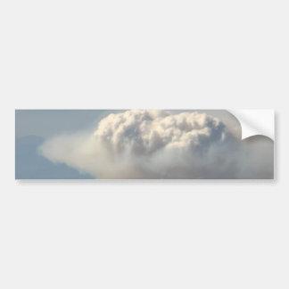 Cloud Blooming Bumper Sticker