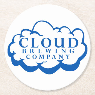 Cloud Brewing Company Logo Coasters