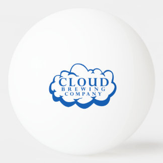 Cloud Brewing Company Logo Ping Pong Ball