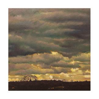 Cloud burst 2012 wood canvases