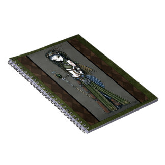 Cloud Burst Steampunk Aviatrix Fairy Notebook