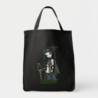 """Cloud Burst"" Steampunk Aviatrix Fairy Tote Bag"