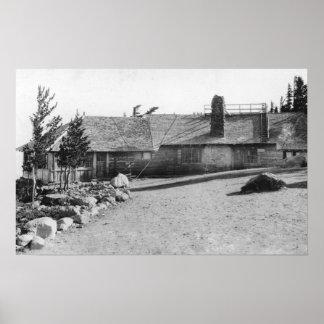 Cloud Cap Inn at Mt. Hood, Oregon Photograph Posters
