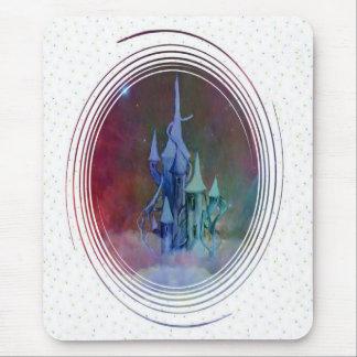 Cloud castle confetti. mouse mat