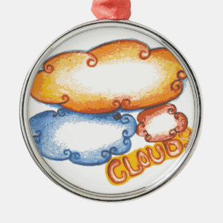 Cloud Christmas Ornament
