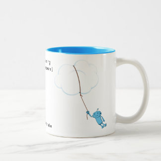Cloud Computing (when robots dream) Mug