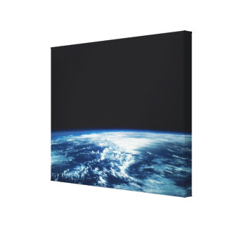 Cloud Cover over Earth Canvas Prints