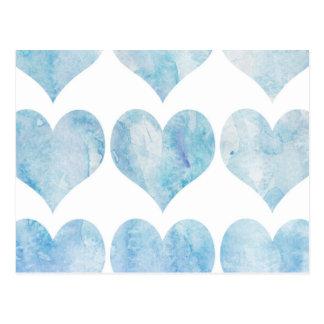 Cloud Filled Hearts Postcard