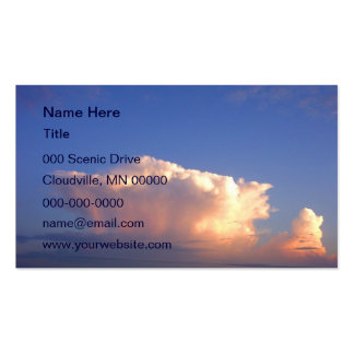 Cloud Formation Business Card