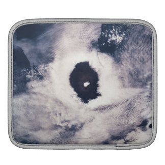 Cloud formation over the earth iPad sleeves