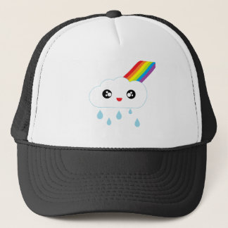 Cloud Happy Trucker Hat