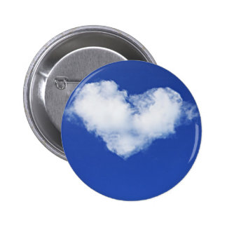 cloud heart button badge