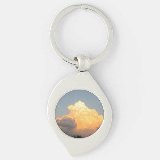 Cloud Keychain Keychains