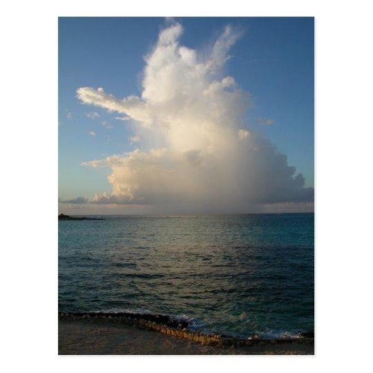 Cloud Kisses Sea Postcard