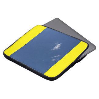 Cloud laptop sleeve