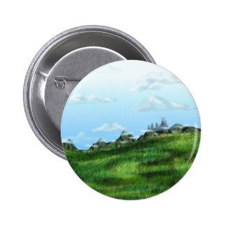 Cloud Meadow 6 Cm Round Badge
