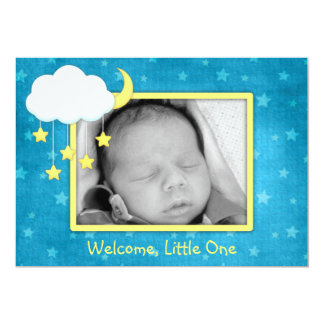 Cloud Mobile Birth Announcements