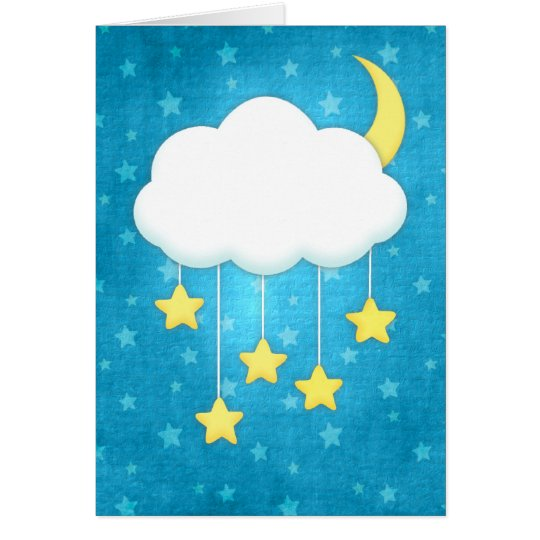 Cloud Mobile Greeting Card