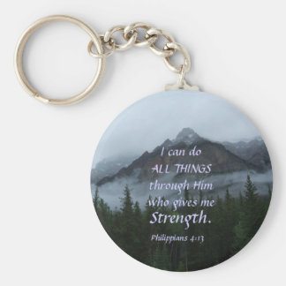 Cloud Mountain - Strength Key Ring