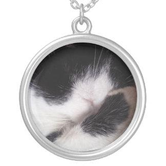 Cloud Round Pendant Necklace