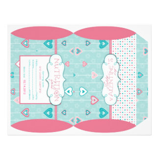 Cloud Nine Puff Box Template 2 Full Color Flyer