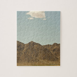 Cloud over Nevada desert and mountains Jigsaw Puzzle