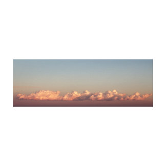 Cloud over the Mediterranean Canvas Print