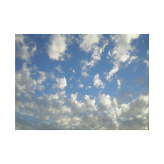 Cloud Pattern Canvas Print