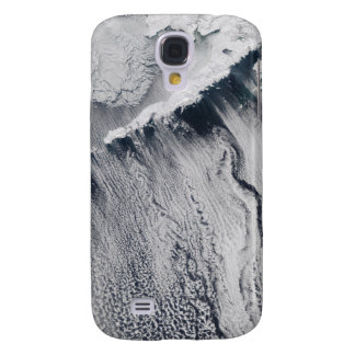Cloud patterns visible over the Aleutian Island Galaxy S4 Case