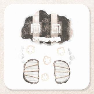 Cloud Prison Paper Coaster