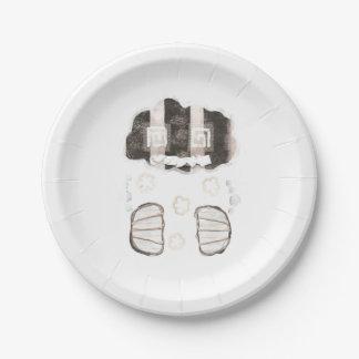 Cloud Prison Paper Plates