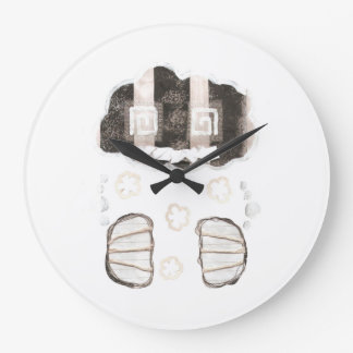 Cloud Prison With No Background Clock