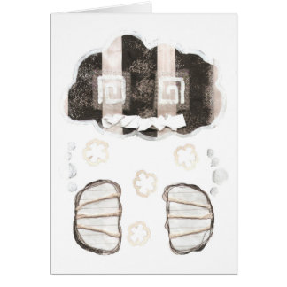 Cloud Prison With No Background Greeting Card