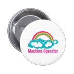 Cloud Rainbow Machine Operator Buttons