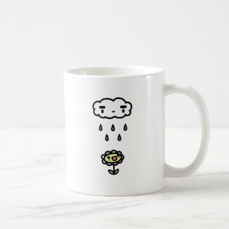 Cloud Raining On Happy Flower Coffee Mug