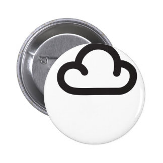Cloud: Retro weather forecast symbol Buttons