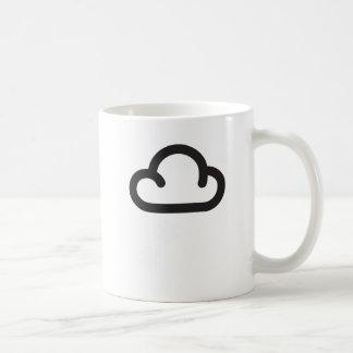 Cloud: Retro weather forecast symbol Coffee Mug