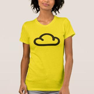 Cloud: Retro weather forecast symbol T-shirt