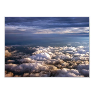 Cloud Scape 13 Cm X 18 Cm Invitation Card