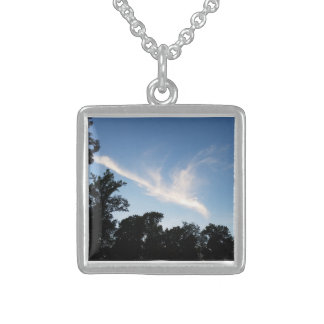 Cloud Silver Necklace
