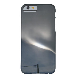 Cloud Streak and Pole in Grey Sky Barely There iPhone 6 Case
